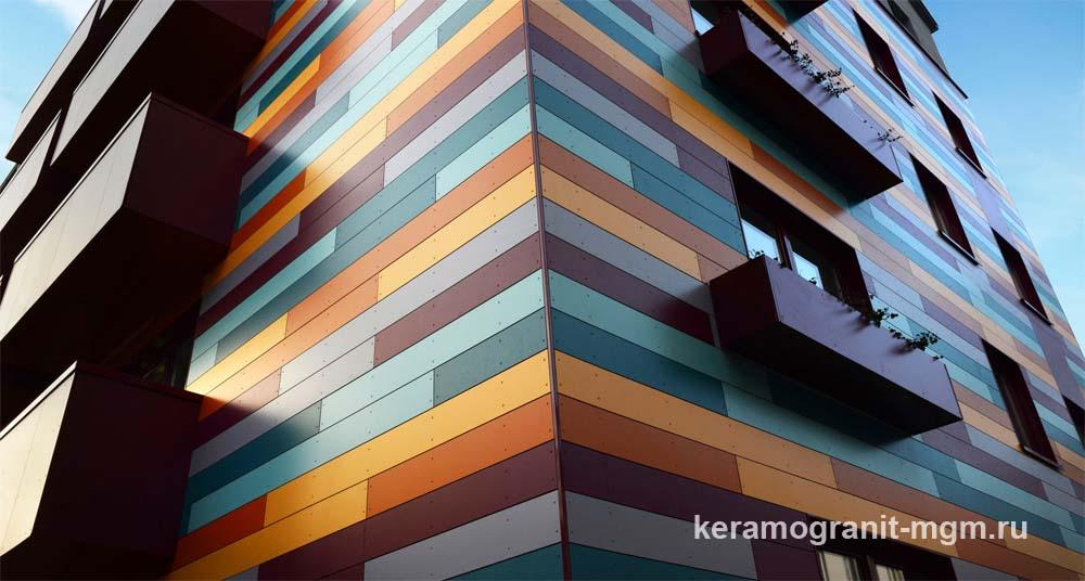 Материалы облицовки для вентилируемого фасада